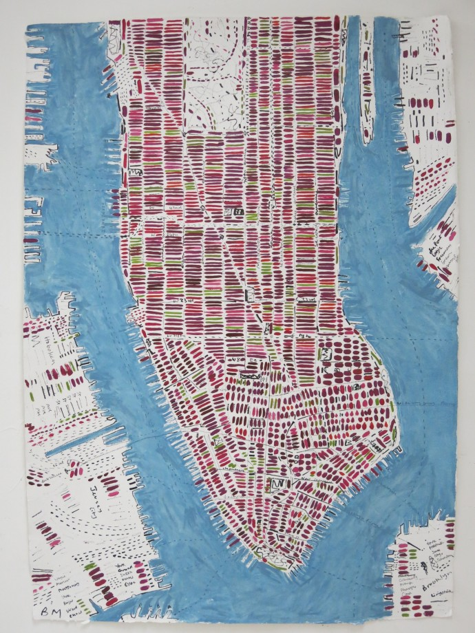 Barbara Macfarlane, Blackcurrant Manhattan, 2014