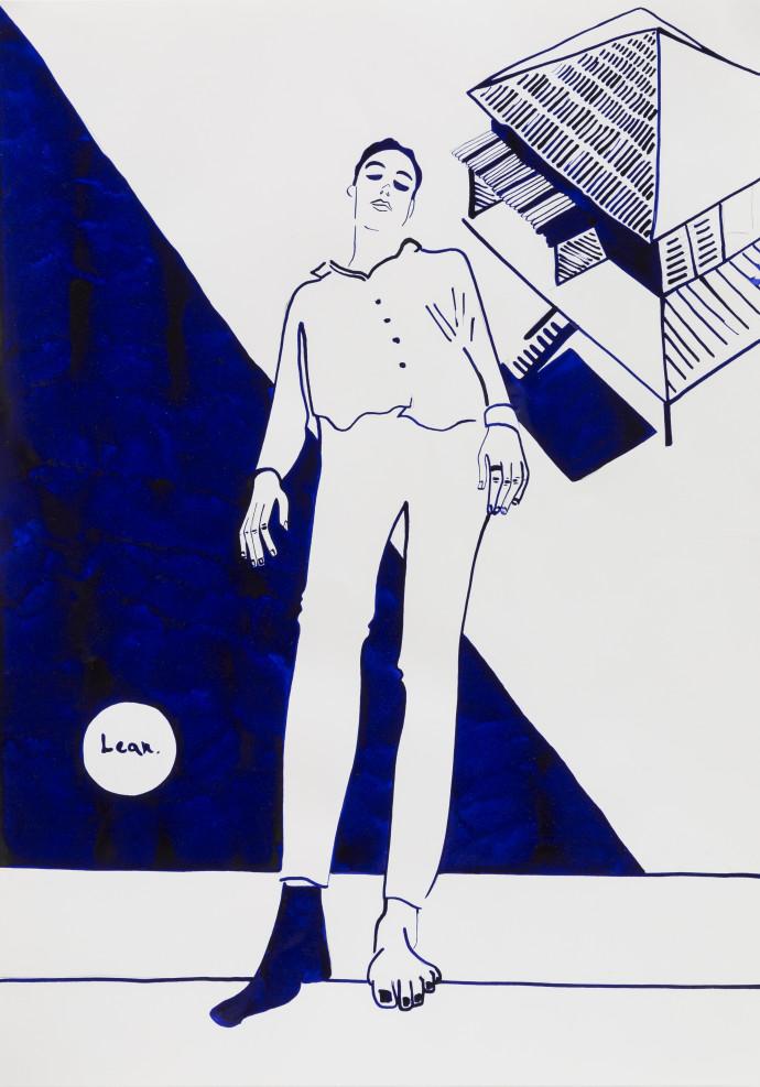 Ivo Morrison, Lean Back, 2018