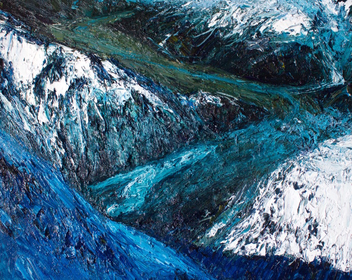 <div class=&#34;artist&#34;><strong>Holly Zandbergen</strong></div><div class=&#34;title&#34;><em>Ramsay Glacier, Terminal Lake</em>, 2017</div><div class=&#34;medium&#34;>oil on canvas</div><div class=&#34;dimensions&#34;>120 x 150 cm<br>47 1/4 x 59 1/8 in</div>