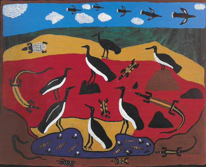 Amy Johnson, Roper River Landscape in the Afternoon , 1994