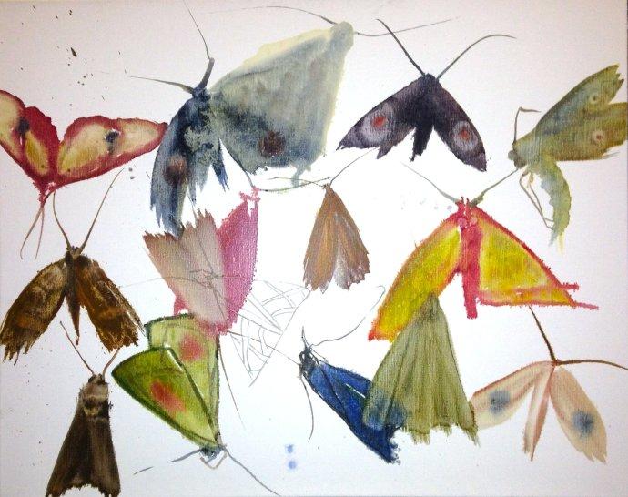 Allyson Reynolds, Untitled II (Moths), 2010
