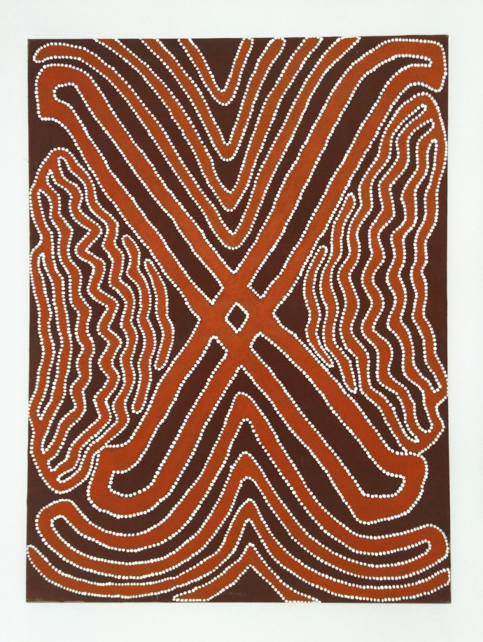 Jimmy Pike, Nganpayijarra 4 (Two Men in a Cave)