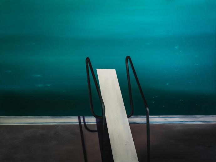 Laurence Jones, Tranquil Plaza Pool, 2019