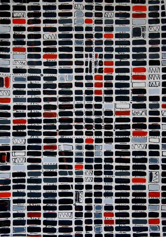 <div class=&#34;artist&#34;><strong>Barbara Macfarlane</strong></div><div class=&#34;title&#34;><em>Midtown Slate, Orange, Grey</em>, 2016</div><div class=&#34;medium&#34;>ink and oil on Khadi paper</div><div class=&#34;dimensions&#34;>138 x 98 cm<br>54 3/8 x 38 5/8 in</div>