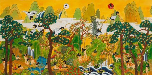 Song-Nyeo Lyoo, Paradise V, 2011-2012