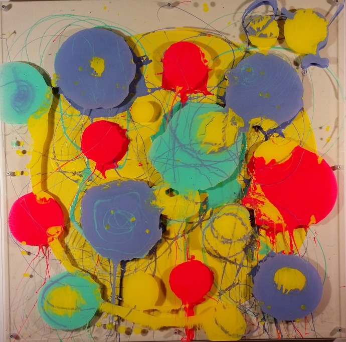 <div class=&#34;artist&#34;><strong>Petra McCarthy</strong></div><div class=&#34;title&#34;><em>Little Things</em>, 2015</div><div class=&#34;medium&#34;>acrylic on canvas with perspex</div><div class=&#34;dimensions&#34;>100 x 100 cm<br>39 3/8 x 39 3/8 in</div>