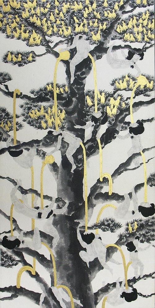 Song-Nyeo Lyoo, Tree II, 2011