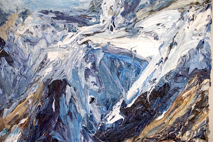 Holly Zandbergen, Aoraki, Mount Cook (detail), 2016