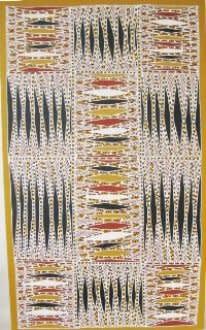 Peter Datjin Burarrwanga, Nyil nyil (fire story), 2010