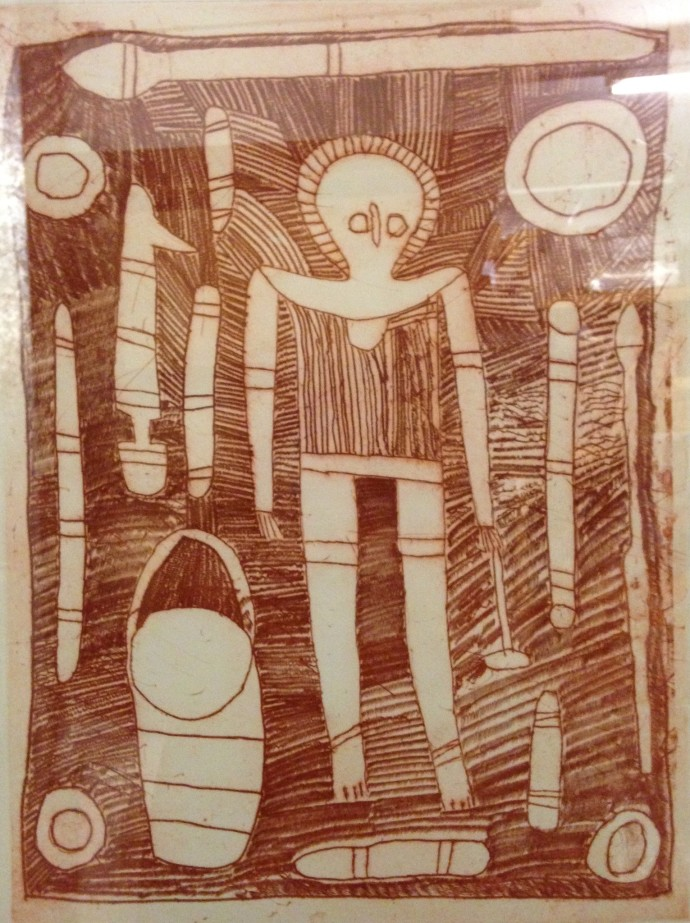 Rosie Karadada, Wandjina Figure, 2003