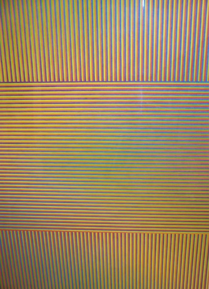 <div class=&#34;artist&#34;><strong>David Whitaker</strong></div><div class=&#34;title&#34;><em>Boomerang Yellow</em>, 2005</div><div class=&#34;medium&#34;>watercolour</div><div class=&#34;dimensions&#34;>122 x 87 cm<br>48 1/8 x 34 1/4 in</div>