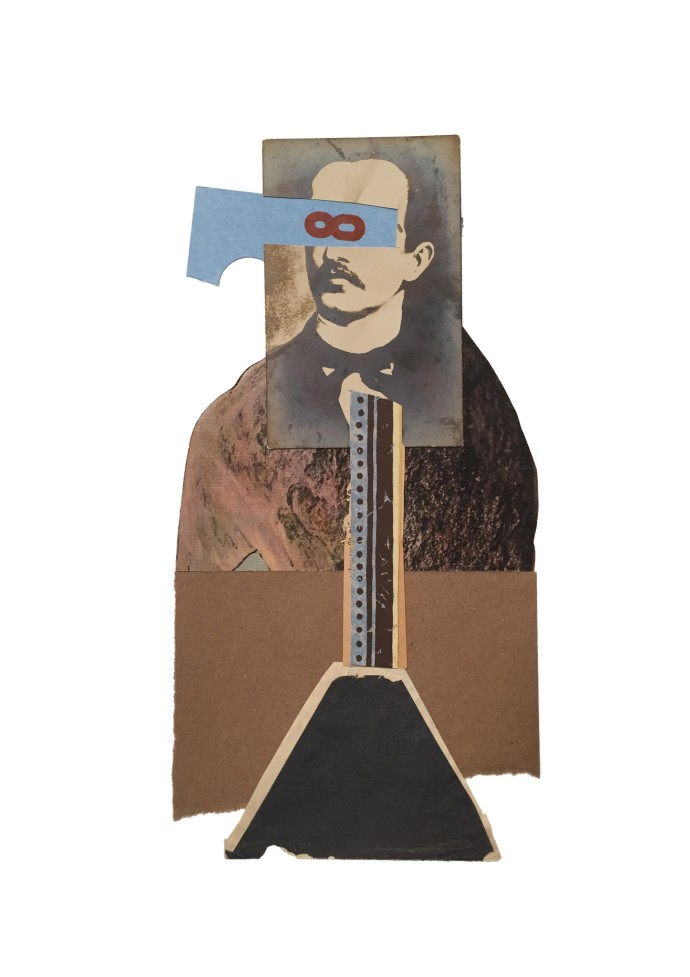 <div class=&#34;artist&#34;><strong>Jerry Jeanmard</strong></div><div class=&#34;title&#34;><em>Figure 8</em>, 2016</div><div class=&#34;medium&#34;>collage</div><div class=&#34;dimensions&#34;>66 x 48 cm<br />26 x 18 7/8 in</div>