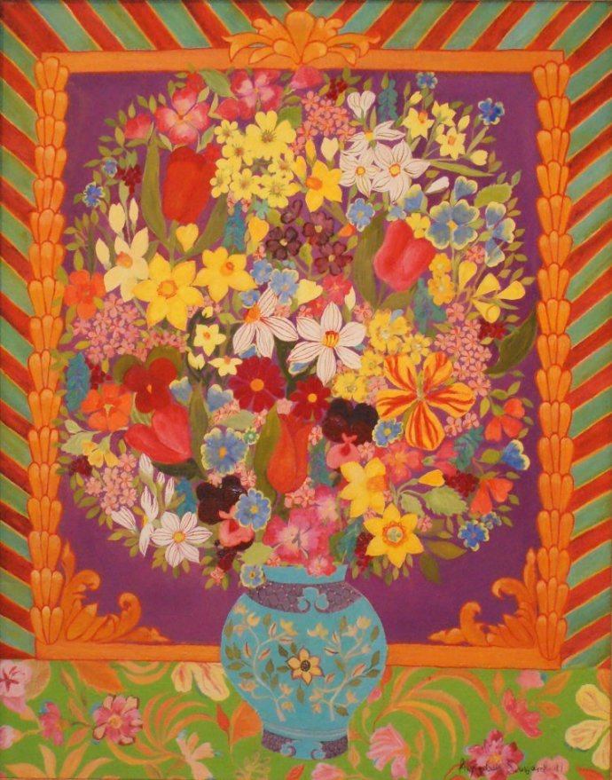 Hepzibah Swinford, Spring Flowers, 2011