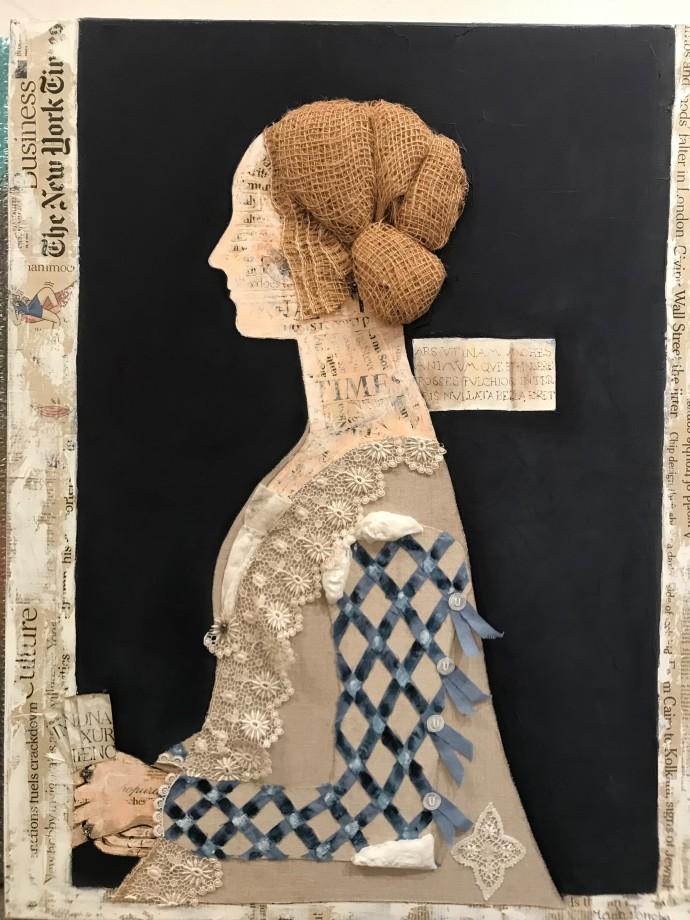 Maria Torroba, Giovanna Dark Blue, 2018