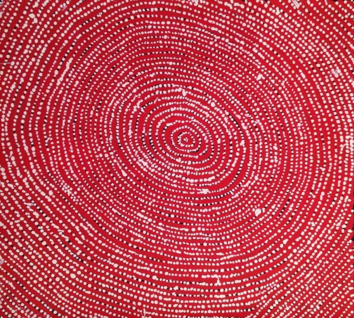 Willy Tjungurrayi, Untitled, 2015