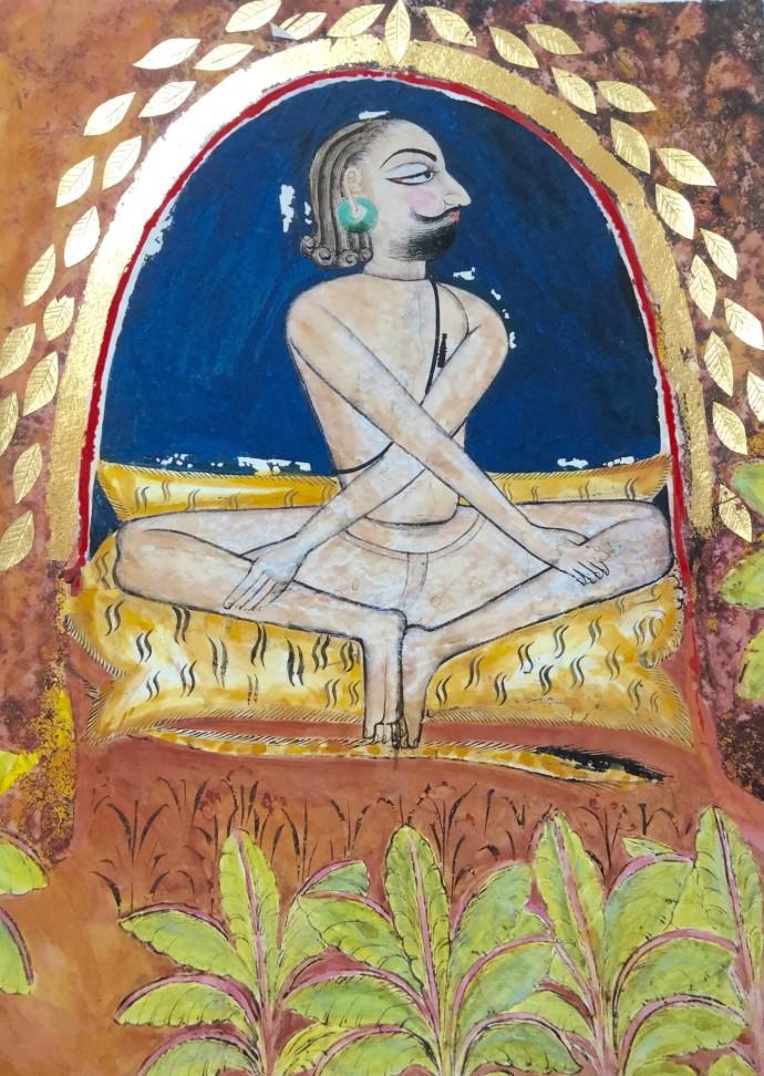 Katherine Virgils, Yogi Medium No. 44, 2016