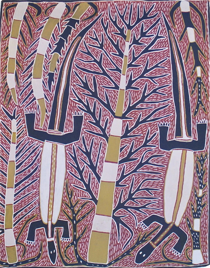 Sambo Barra Barra, Two Goannas , 1995/96