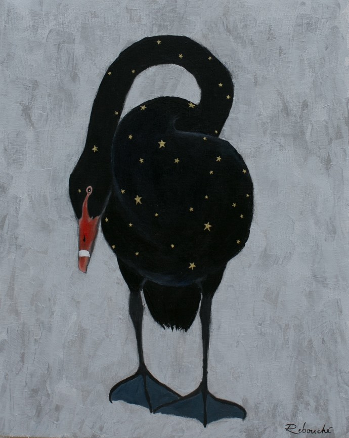Rebecca Rebouché, Auriferous Swan, 2014
