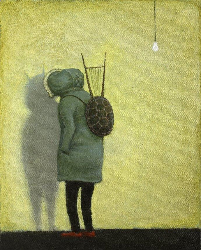 Alasdair Wallace, Lyre Shadow, 2013