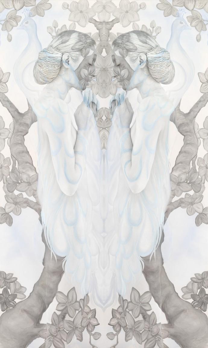 <p>Emma Hack<b>,&#160;</b><i>Peacock Whispers I</i><span>, 2012,&#160;</span><span>c-type,&#160;</span><span>62 x 42 in</span></p>