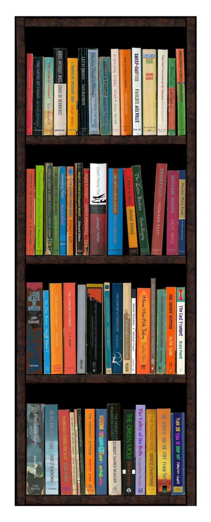 <p><b>Phil Shaw, </b><i>Fiction 10</i>, 2009, eight colour pigment based archival print on Hahnemuhle paper, 46.25 x 19.75 in</p>