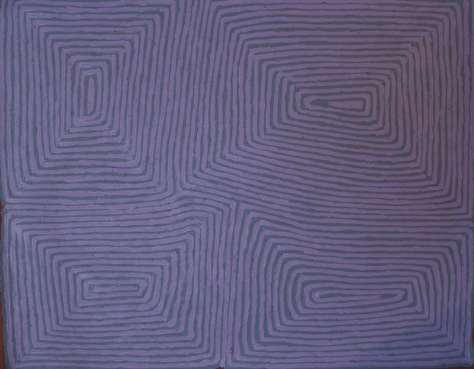 <p><b><br class=&#34;Apple-interchange-newline&#34; />George Tjungurrayi,&#160;</b><span>Untitled, 2014,&#160;</span><span>inscribed verso: Papunya Tula Artists 1407029,&#160;</span><span>synthetic polymer paint on linen,&#160;</span><span>46 x 38 cm,&#160;</span><span>18 1/8 x 15 in</span></p>