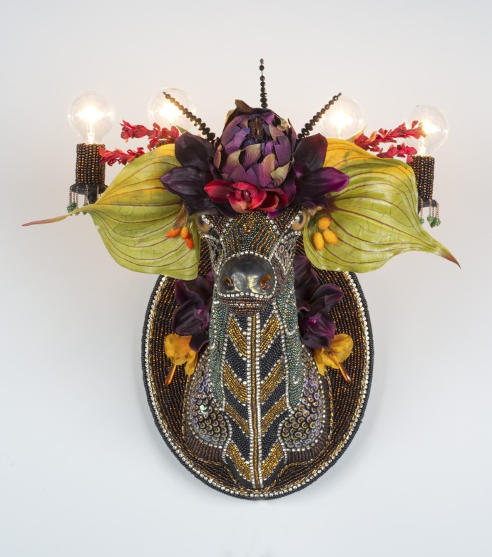 Nancy Josephson, Dear Head Sconce, 2015