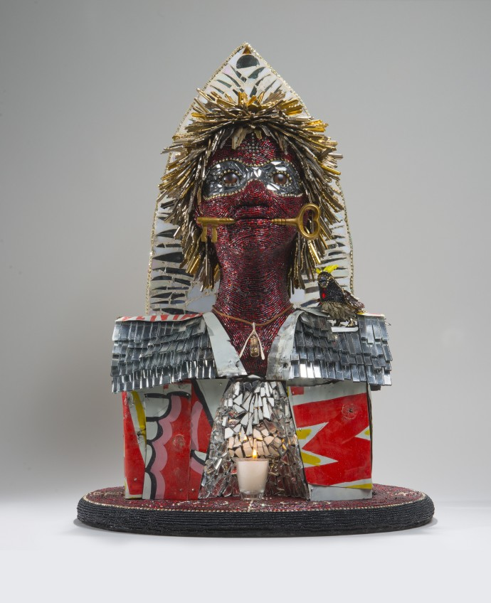 Nancy Josephson, Legba at the Amen Clinic Spirit Head, 2015