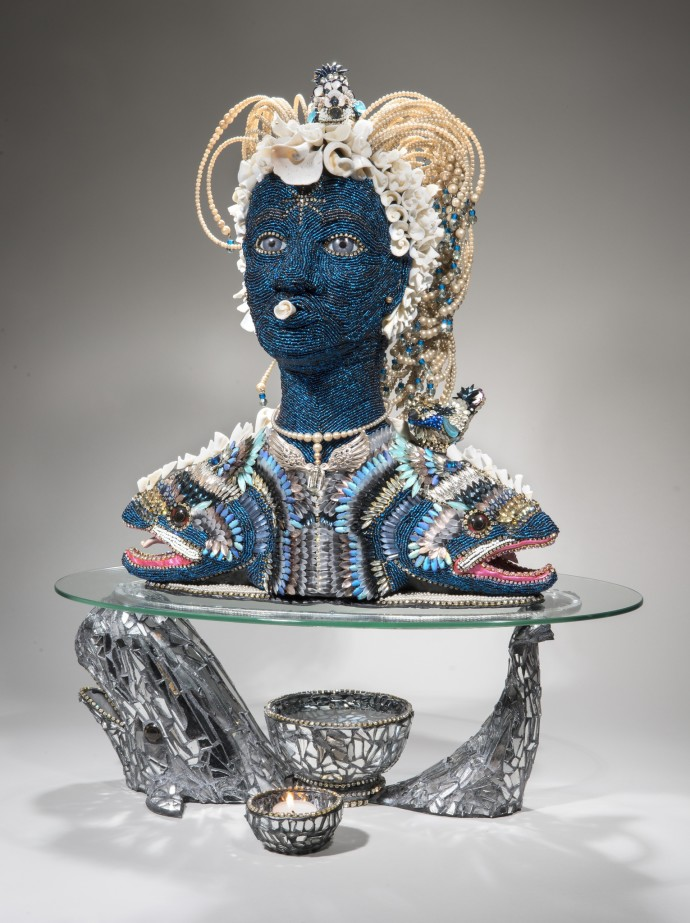 Nancy Josephson, Sea Spirit Head, 2014-2015