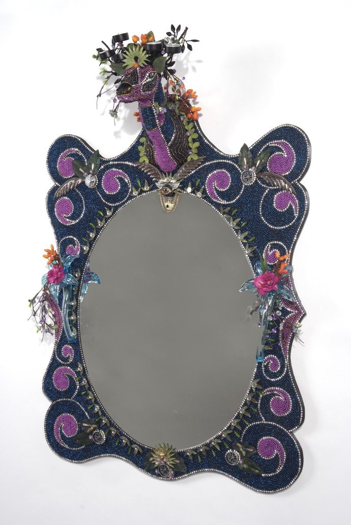 Nancy Josephson, Deer Head Mirror, 2014