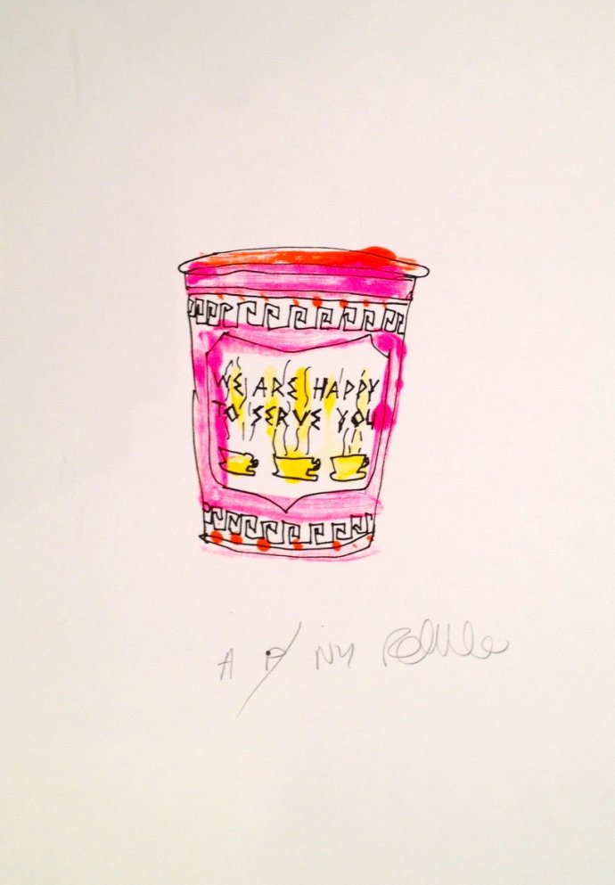 <p><strong>Rob Clarke</strong><strong>, </strong><em>Coffeee&#160;</em>(Pink), 2012,&#160;<span style=&#34;line-height: 1.5em;&#34;>Monoprint on Heritage Paper,&#160;</span><span style=&#34;line-height: 1.5em;&#34;>16 x 11.4 inches</span></p>