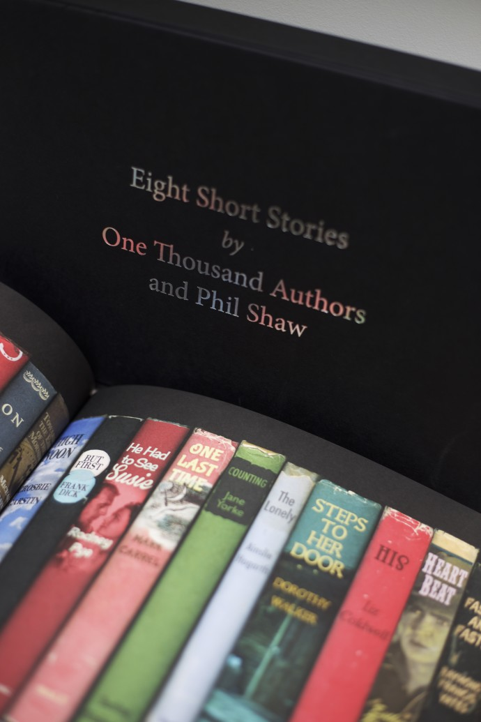 Eight Short Stories by One Thousand Authors and Phil Shaw