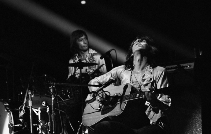 Jim Marshall, Keith Richards & Charlie Watts, 1972, Photograph (unframed), Edition of 25, 40.6 x 50.8 cm, 16 x 20 in © Jim Marshall Photography LLC