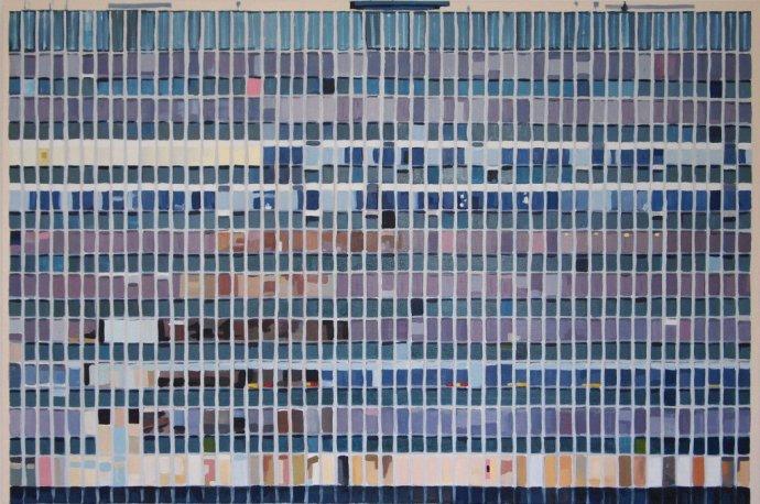 <p><strong>Keith Robinson</strong>,&#160;<em>Hannibal</em>, 2013, oil on canvas, 94 x 140cms</p>
