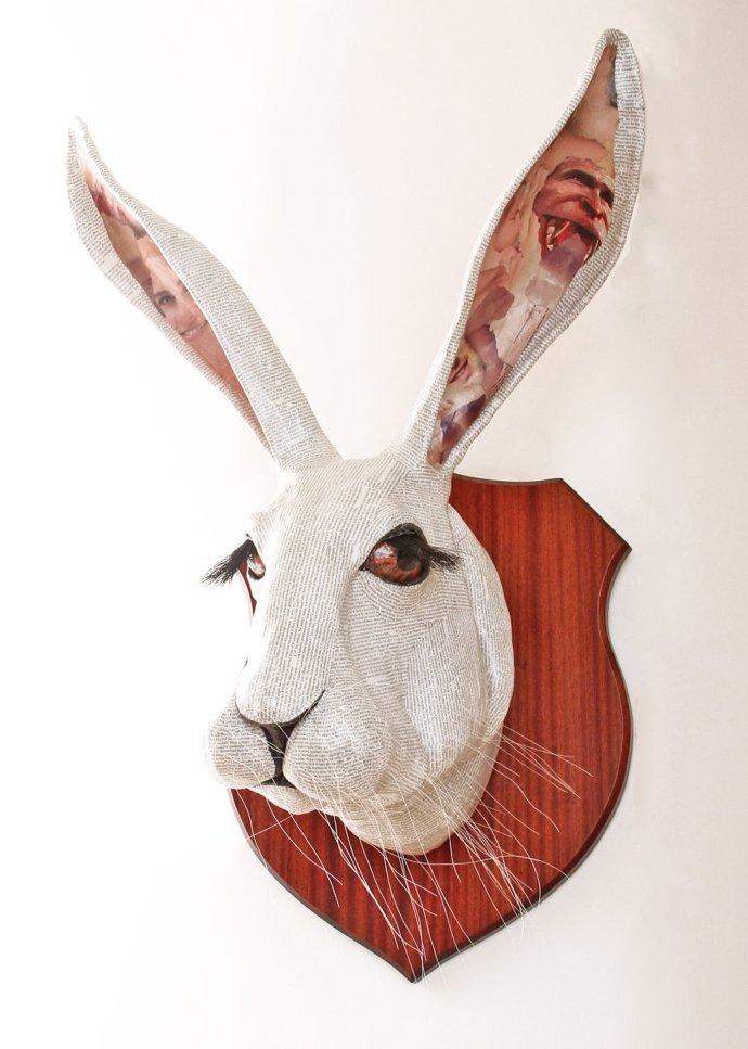 David Farrer, White Rabbit, 2013