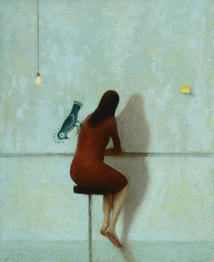 Alasdair Wallace, Shadow Wall, 2013