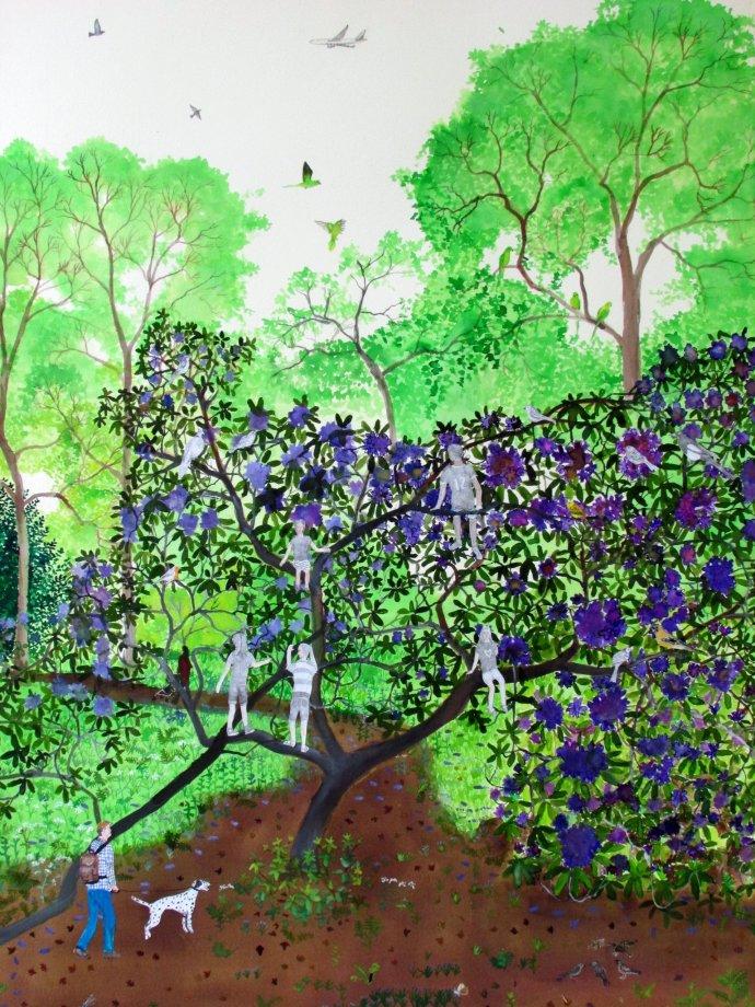 Emma Haworth, Secret Garden III, 2013