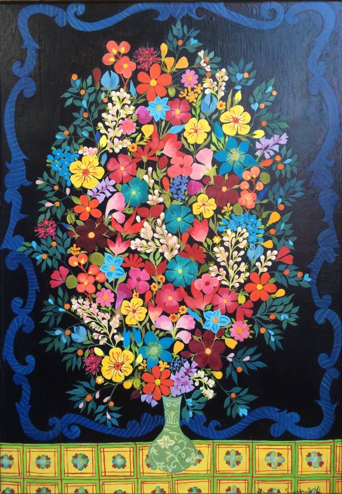 Hepzibah Swinford, Forget-me-nots, 2014