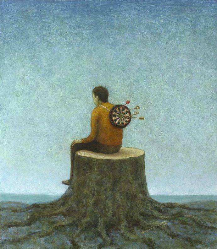Alasdair Wallace, Stump, 2013