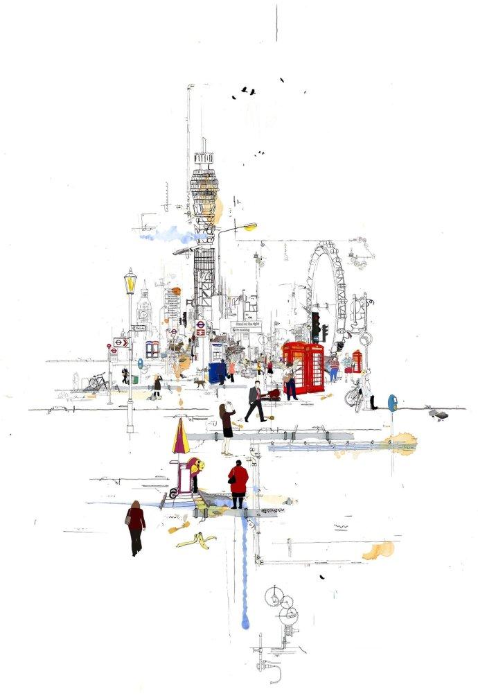Laura Jordan, Good View of the Tower, 2012