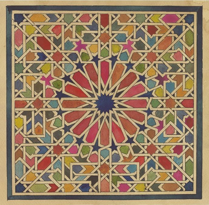 <div class=&#34;artist&#34;><strong>Lucy Temple</strong></div><div class=&#34;title&#34;><em>Sampha</em>, 2017</div><div class=&#34;medium&#34;>watercolour on tea stained watercolour paper</div><div class=&#34;dimensions&#34;>25 x 25 cm (box framed)<br>9 7/8 x 9 7/8 in</div>