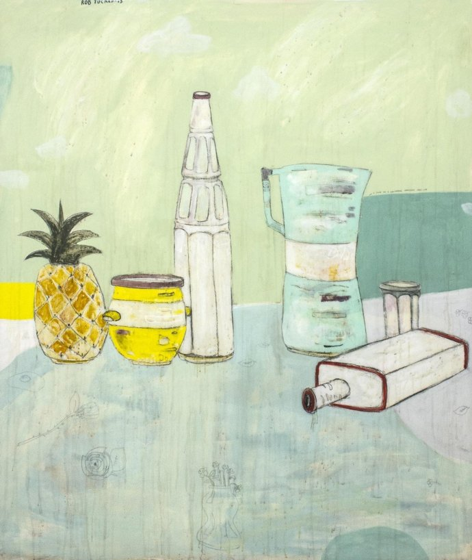 Rob Tucker, A study for a delightful ambiguous still life, 2013