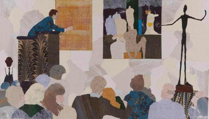 Dione Verulam, L'homme qui marche, 2014