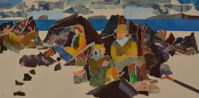 Dione Verulam, Nearly time for tea, Iona, 2014
