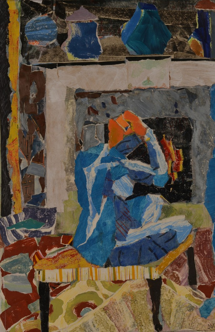 Dione Verulam, Granny drying by the fire, 2014