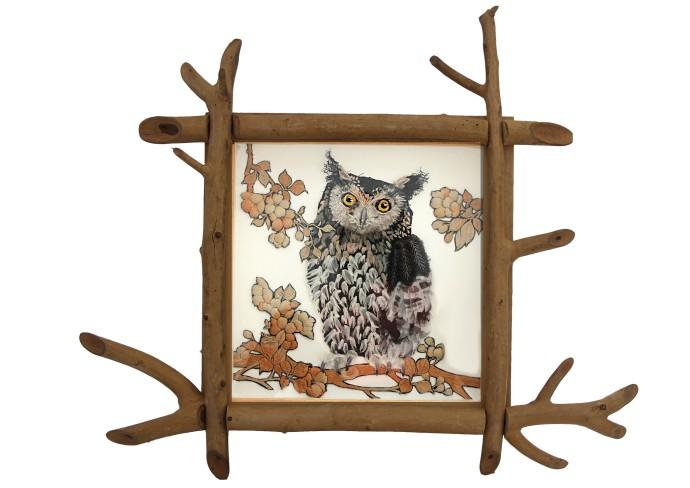 Karen Nicol, Owl at the Window, 2014