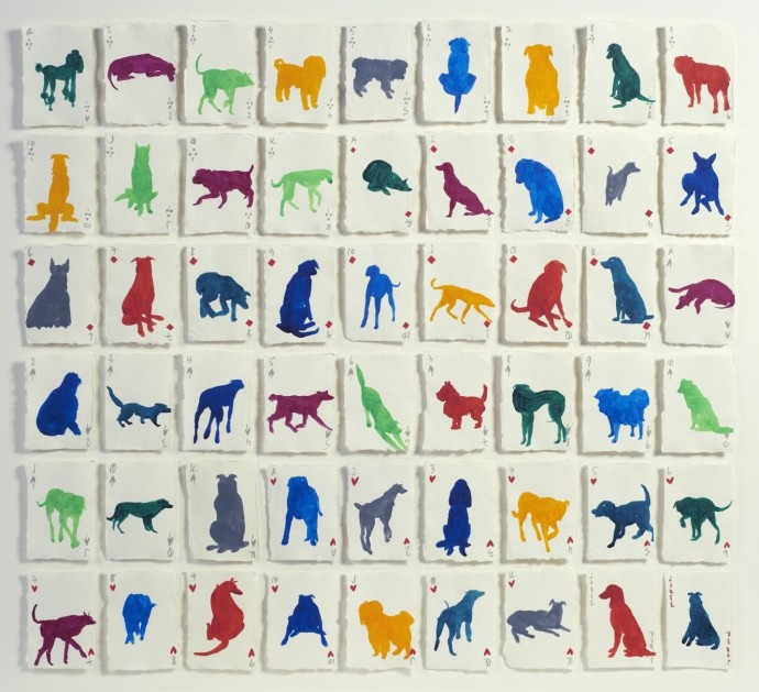 Holly Frean, A Pack of Colourful Dogs, 2014
