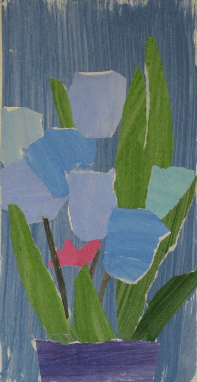 James Farrelly, Flowers Blue on Blue