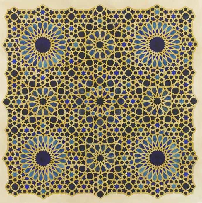<div class=&#34;artist&#34;><strong>Lucy Temple</strong></div><div class=&#34;title&#34;><em>Hocus</em>, 2017</div><div class=&#34;medium&#34;>watercolour on tea stained watercolour paper</div><div class=&#34;dimensions&#34;>85 x 85 cm (unframed)<br>33 1/2 x 33 1/2 in</div>
