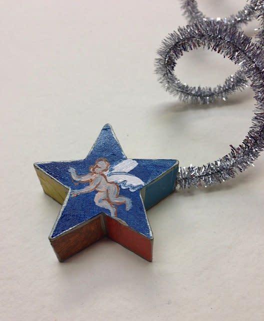 Holly Frean, Cherub Star Tree Decoration, 2013